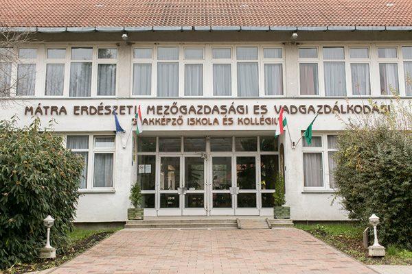 VM ASZK Mátra Erdészeti, Mezőgazdasági és Vadgazdálkodási Szakképző Iskola és Kollégium, Gyöngyös-Mátrafüred